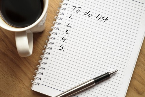 Create a 'to do' List