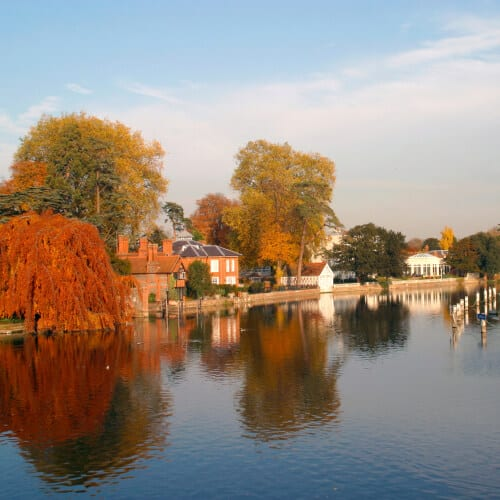 Picture of river in Buckinghamshire
