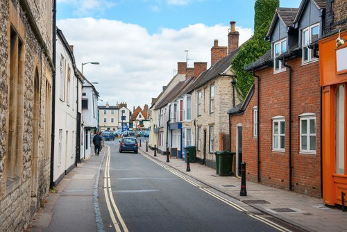 Road in Bicester